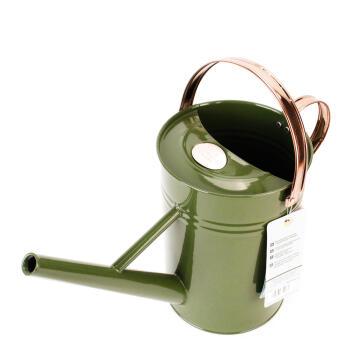 Watering Can 4.5L Metal - Green