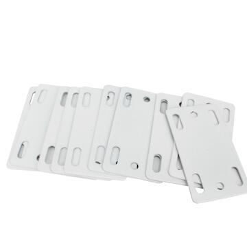FLAT STEEL BRACKET WHITE 10P