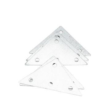 FLAT STEEL TRIABRACKET 70X70X95 GALV 6P