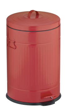 DUSTBIN -20L CLASSIC RED PEDAL BIN