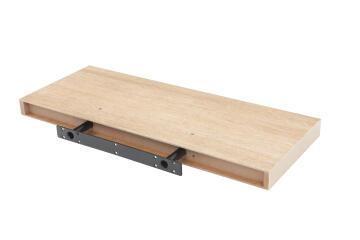 Floating shelf oak 60x23cm