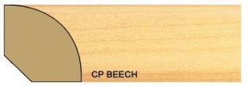 Quarter Round Polymer Beech-16x16x2700mm-pack of 2