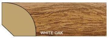 Quarter Round Polymer White Oak-16x16x2700mm-pack of 2