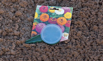 Planter Seed Nortene Plastic Green