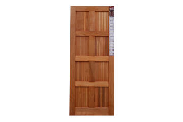 Entry Door Engineered Wood with Hardwood Veneer 8 Panel Kayo-w813xh2032mm