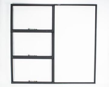 Window steel top hung TD678 right hand F7 1975X1848mm