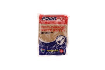 POWAFIX PUTTY, MULTI PURPOSE WHITE 1KG