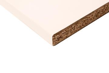 Kitchen worktop laminate white L180XD60XT2.8cm