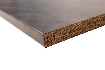 Kitchen worktop laminate concrete L180XD60XT2.8cm