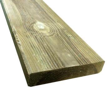 Decking Board Cl Iv 27X120X2400 Mm