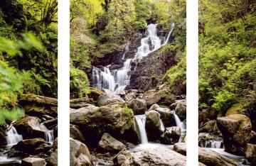 ADHESIVE PICTURE IRISH WATERS 50X70
