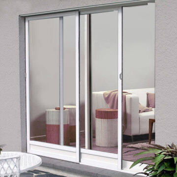 Mosquito net sliding door lat wh h2400xw1600mm
