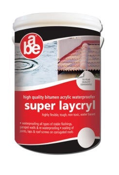ABE SUPER LAYCRYL WHITE 5L