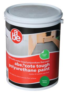 ABE TOUGH COTE PAINT TRAFFIC GREEN 5L