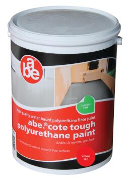 ABE TOUGH COTE PAINT SIGNAL RED 5L