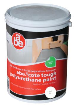 ABE TOUGH COTE PAINT LIGHT GREY 5L