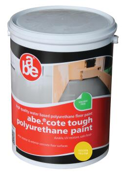 ABE TOUGH COTE PAINT GOLDEN YELLOW 5L