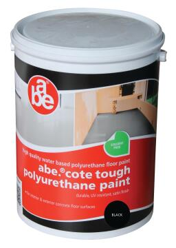 ABE TOUGH COTE PAINT BLACK 5L