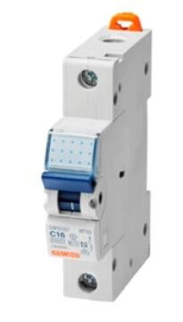 Circuit breaker DIN rail 16Amp ACDC