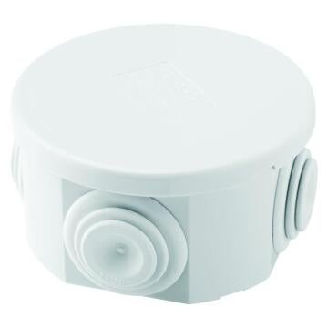 Junction box IP44 round 70mm