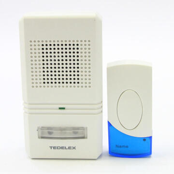 Door chime wireless 1 receiver - 1 transmitter