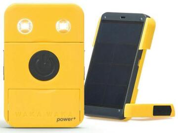 Solar charger for cellphone 1A output - 5volts with light yellow