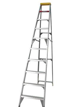 A-Frame Ladder 10-Step Aluminium GRAVITY
