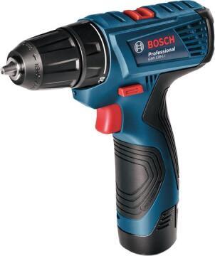 Cordless drill BOSCH Profesionnal GSR120-Li 12V 2 bat Li 1.5 Ah