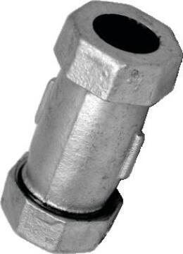 Galv Johnson Coupling 1/2""