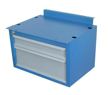 1502 METAL 2 DRAWER FOR WORKBENCH GEDORE