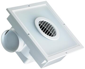 LED SQUARE EXTRACTOR FAN WITH LIGHT 20W