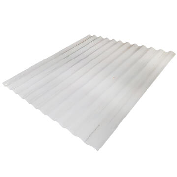 Polycarbonate Roof Sheet Corrugated 1.8m Clear