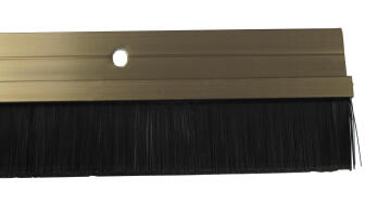 HOME QUIP DOOR SEAL BRONZE-BRUSH STRIP