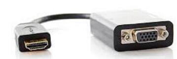 HDMI MALE TO VGA FEMALE ADAPTER