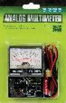 Multimeter analogic