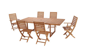 TABLE VIENNA EXT 180/230X110X75CM