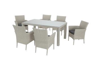 TABLE COSTA RICA WHITE