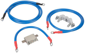 Connection inverter to battery set 25mm