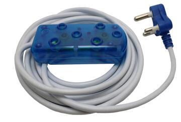 EXT 3M LEAD 10A -BLUE
