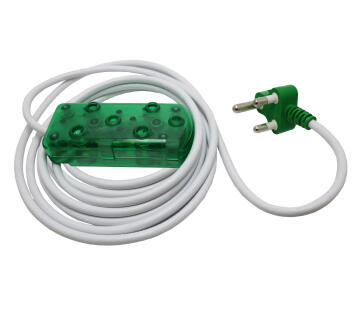 EXT 5M LEAD 10A -GREEN