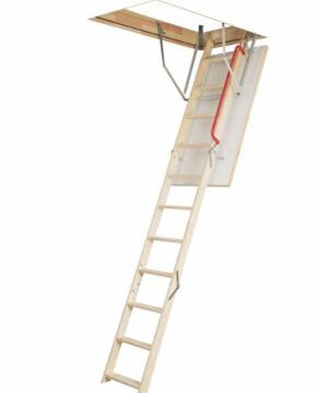 Carpenter Ladder Pine with Handrail-Ceiling Opening-w600xl1200mm