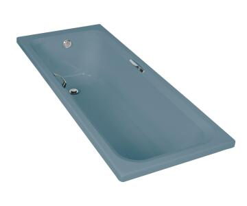 Bathtub rectangular acrylic THANDI blue 70X170X40CM
