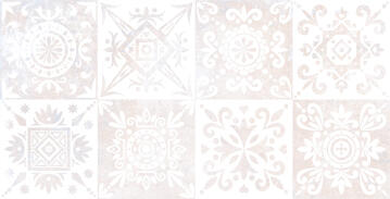 Wall Tile Ceramic Dream White 25x50cm (1.62m2)