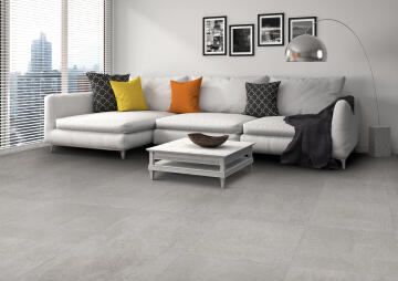 Floor Tile Porcelain Alpha Grey Anti-Slip 80x80cm (1.92m2)