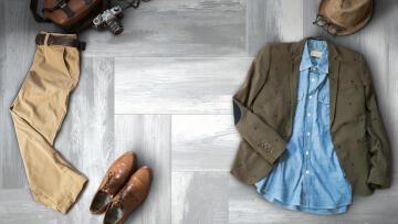 Floor Tile Ceramic Kirstenbosch Grey 30x100cm (2.1m2)