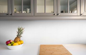 Wall Tile Ceramic Shiny White 20x20cm (1.52m2)