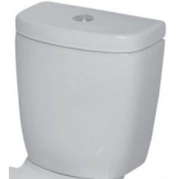 Close Couple cistern 9l DT/F ceramic Hibiscus Elite white