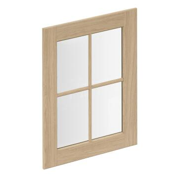 GLASS DOOR OAK PRAGUE L60XH77