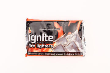 FIRELIGHTERS INDIVIDUALLY FOIL WRAPPED