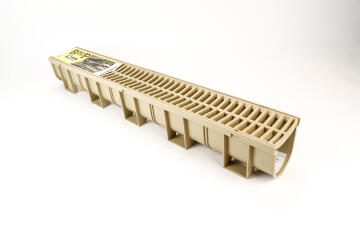 PVC Drainage Channel Sandstone WATERFORM